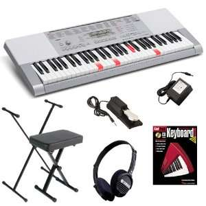 Casio LK 280 Lighted Keyboard HOME ESSENTIALS BUNDLE