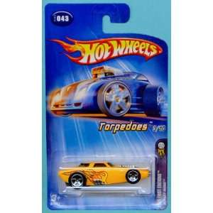 64 Scale Torpedoes Yellow Bullet Nose Die Cast Car #043: Toys & Games