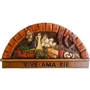 Spanish Wall Plaque Live Love Laugh