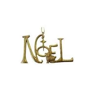 Winters Beauty Gold Inspirational Word Noel Christmas