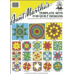 : Aunt Marthas Quilting Template Set Star Set: Arts, Crafts & Sewing