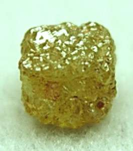 Carats 1 Natural Raw Uncut ROUGH DIAMONDS Cubes Gems