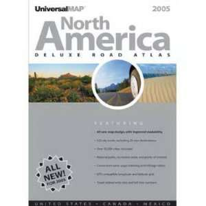 2005 North American Road Atlas (AAA North America Deluxe Road Atlas