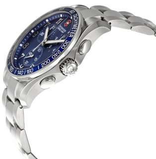 Victorinox Swiss Army Mens 241120 Classic Chronograph Blue Dial Watch