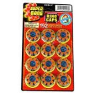 Super Bang 8 Shot Ring Caps   160 Shots with Covers: Toys