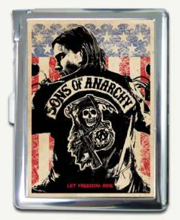Charlie Hunnam Sons Of Anarchy season Cigarette Case Lighter Wallet
