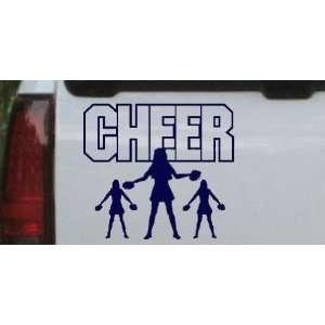 Cheer Leader Sports Car Window Wall Laptop Decal Sticker Automotive