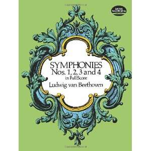 Scores) (9780486260334): Ludwig van Beethoven, Music Scores: Books