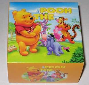 Winnie the Pooh WATCH DISNEY Kids Girls Womens New in Box Vinyl Yellow