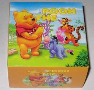 Winnie the Pooh WATCH DISNEY Kids Girls Womens New in Box Vinyl Yellow