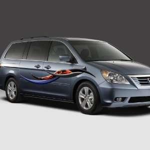sticker car minivan truck suv Ford Chevy Toyota Kia Chrysler dodge