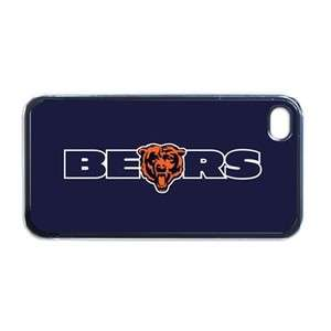 NFL Chicago Bears Sports Apple iPhone 4 / 4S Hard Case Cover Verizon