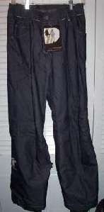 NWT $150 SALOMON OUTER SKIN SKI PANTS   SMALL  NAVY
