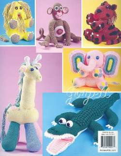 Safari Friends, Annies animal crochet patterns OOP new