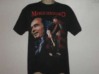 vintage 1994 MERLE HAGGARD LEGEND CONTINUES T Shirt XL country concert