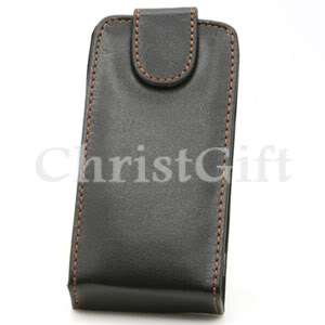 LEATHER FLIP SKIN CASE POUCH FOR LG KP500 COOKIE