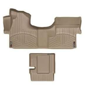 2007 2011 Mercedes Benz Sprinter [Cargo] Tan WeatherTech Floor Liner