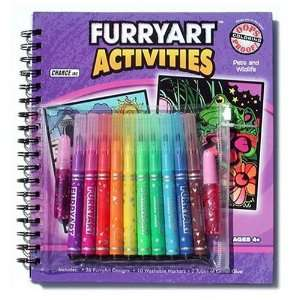 FuzzArt Clocked Coloring Book Toys & Games