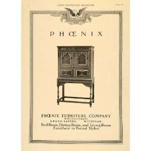 Ad Phoenix Furniture Grand Rapids Manufacturer   Original Print Ad