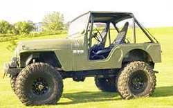 Full Roll Cage Kit Jeep CJ5 CJ7 MB Willys