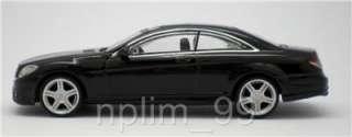 RASTAR 1/43 Diecast Car MERCEDES BENZ CL63 AMG BLACK