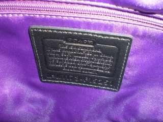 Pebble Leather Hobo Handbag Purse with Polished Nickel Side Chains