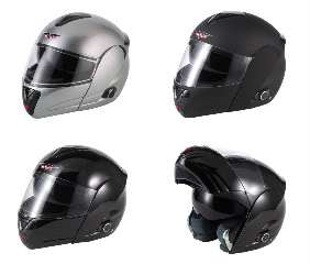 CAN V210 BLUETOOTH MB FLIP FRONT MOTORCYCLE HELMET M