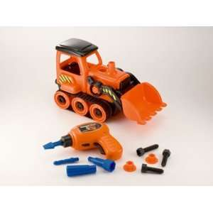 Jr. Mechanic   Build Your Own Bull Dozer: Toys & Games