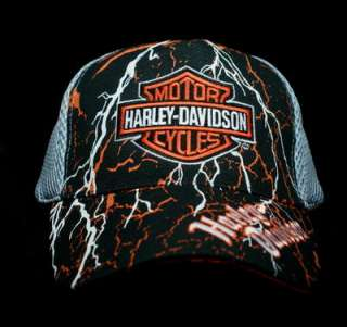 HAT   Harley Davidson Mess / Embroidered Vented Ball Cap NEW (1