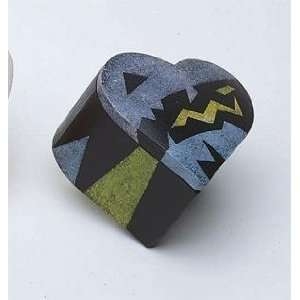 S&S Worldwide Heart Shaped Wooden Box Toys & Games