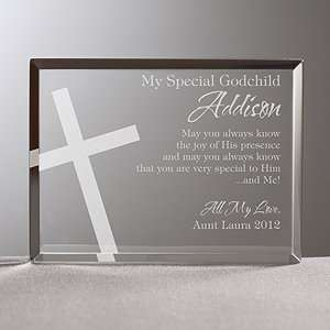 Personalized Religious Gifts   Godchild Keepsake: Home & Kitchen