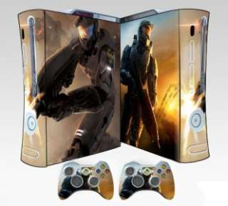 SHIP HALO 4 STICKER XBOX 360 Skin CONTROLLERS CASE COVER COOL