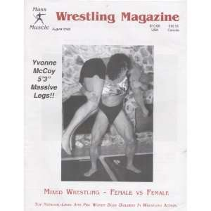 Mass Muscle Wrestling Magazine August 2000 Various, Ed Wink Books