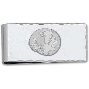 Florida State Seminoles Sterling Silver Seminole on Nickel Plated