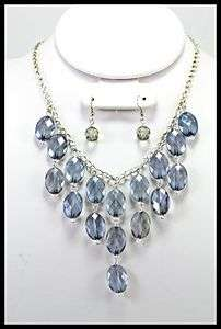 10 PC WHOLESALE LOT COSTUME FASHION JEWELRY NECKLACE EARRINGS