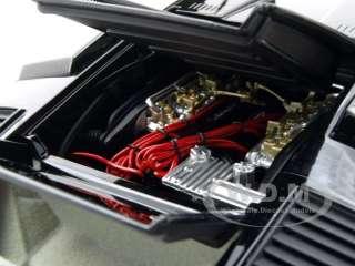 LAMBORGHINI COUNTACH LP400 BLACK 1/18 KYOSHO MODEL CAR