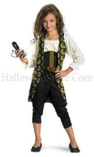 Pirates of the Caribbean Angelica Pirate Classic Child Costume