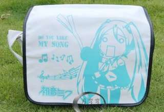 Vocaloid Hatsune Miku Messenger Shoulder School Bag 15