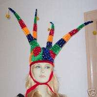 Crazy Party Jester Hat Mardi Gras Court Jester Fun!