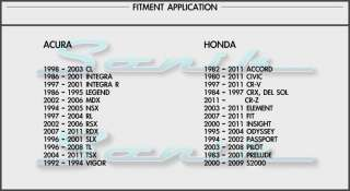Acura Honda Wheel Locks & Lug Nuts ~ Factory OEM Wheels