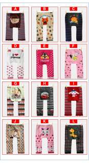New Cutie Baby Boy Girl Infant Warm Knit Cotton Pants Collection