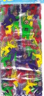 TELETUBBIES Party Supplies TREAT SACKS favor loot bags 048419124108