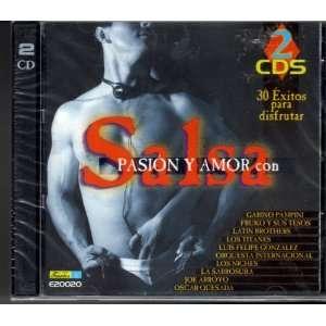 Salsa Pasion Y Amor Con   30 Exitos Para Disfrutar Fruko