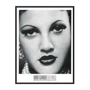 Poster Metal Framed Print   Drew Barrymore, 1994   Artist: Len Prince
