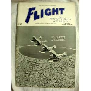 Flight and Aircraft Engineer August 20, 1936 Rolls Royce Aero Engines