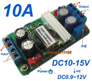 50W DC/DC Converter Regulator Step down 10A , Input 10   15V , Output