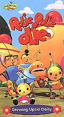 Rolie Polie Olie Growing Upside Daisy VHS, 2002