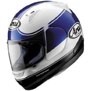 Full Face Motorcycle Riding Race Helmet   Banda Blue Automotive