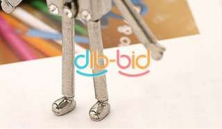 Charming Jewelry Ancient Style Cute Robot Notes Pendants Necklaces