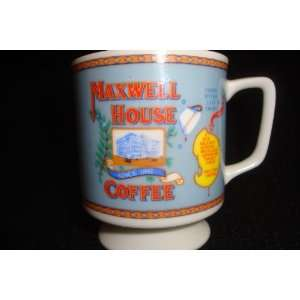 Maxwell House Coffee Cup Collectible 3.25 x 2.75 Good to Last Drop